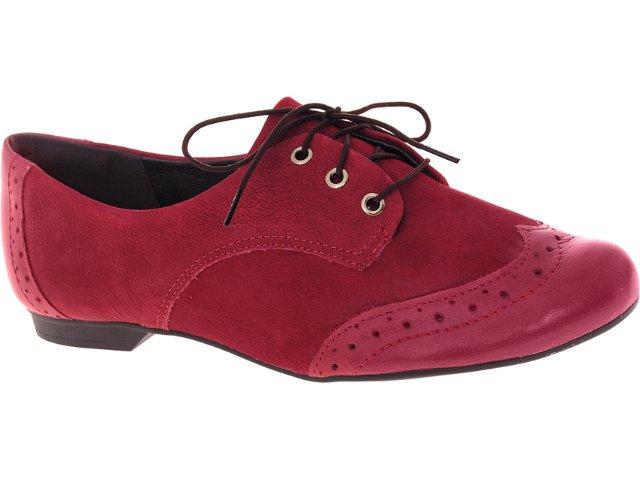 Sapato Feminino Dakota 3866 Vermelho