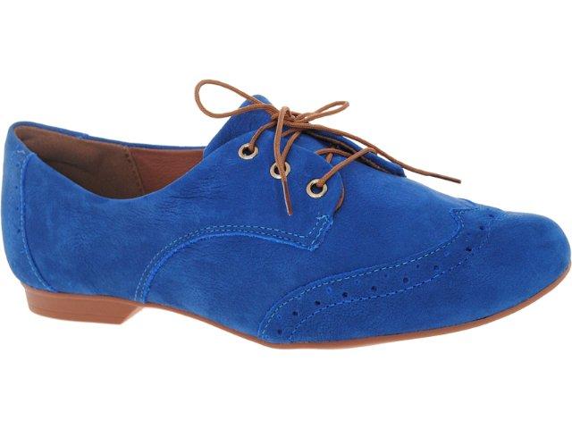 Sapato Feminino Dakota 3866 Azul