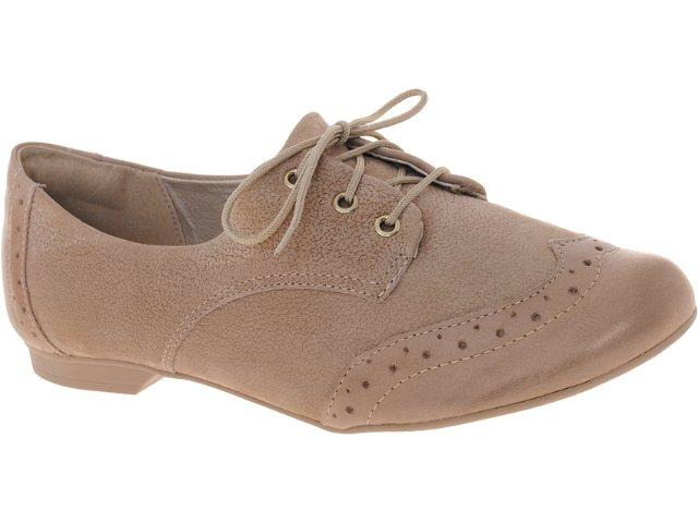 Sapato Feminino Dakota 3866 Trigo