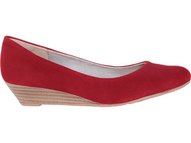 Sapato Feminino Dakota 4185 Vermelho