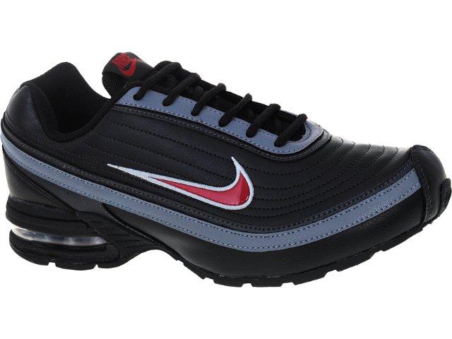 Tênis Masculino Nike 456330-005 Air Max Preto/cinza