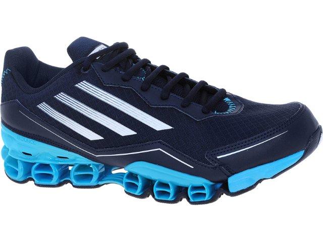 Tênis Masculino Adidas V21531 az Bounce Marinho/celeste