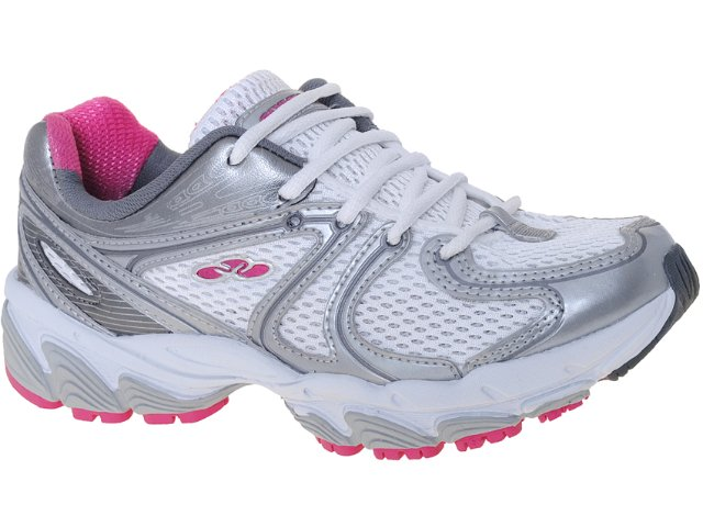 Tênis Feminino Olympikus Cennsor 629 Branco/pink