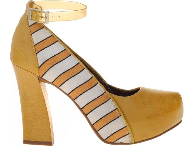 Sapato Feminino Dakota 4304 Amarelo