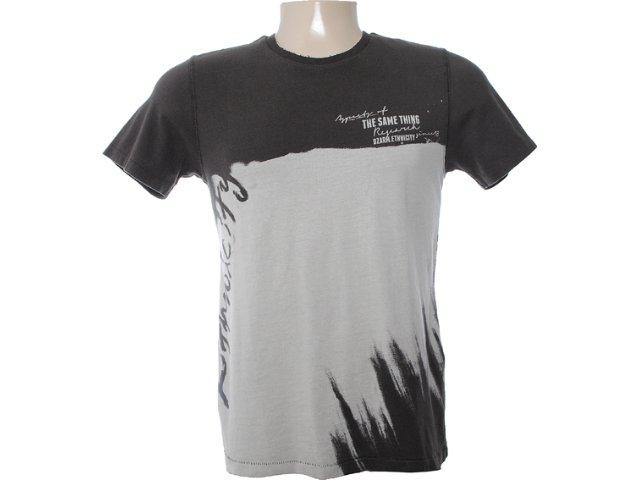 Camiseta Masculina Dzarm 6bu8 Nem10 Marrom