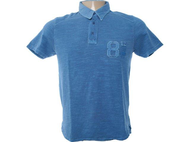 Camiseta Masculina Dzarm 6bv3 Aur10 Azul