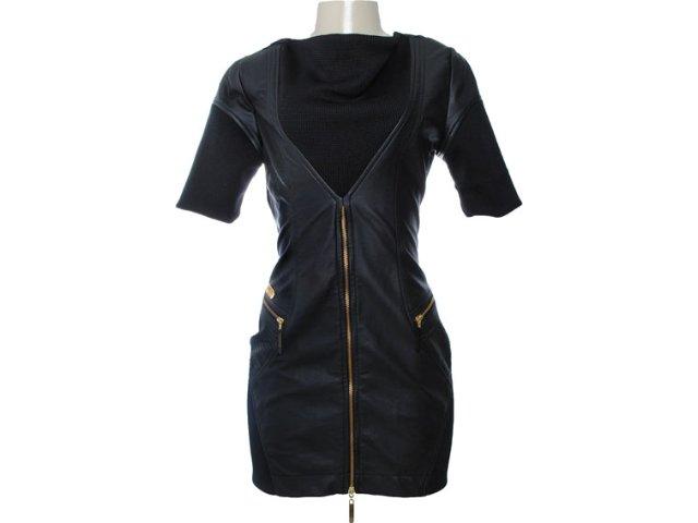 Vestido Feminino Moikana 6008 Preto