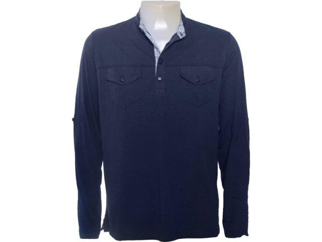 Camisa Masculina Individual 305.222.220 Marinho
