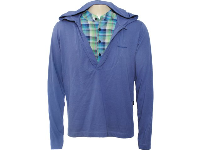 Camiseta Feminina Cavalera Clothing 01.02.0491 Azul
