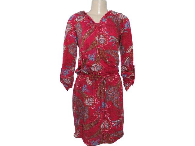Vestido Feminino Hering 09hh 1b00s Vermelho