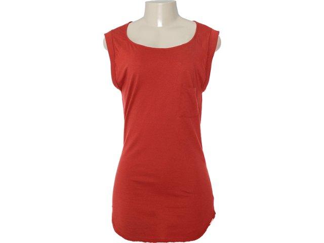 Blusa Feminina Dzarm 6jg1 Ryp10 Vermelho