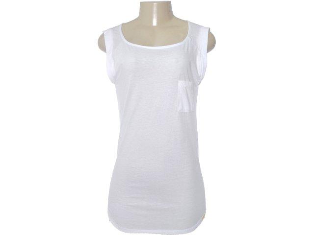 Blusa Feminina Dzarm 6jg1 N0a10 Branco