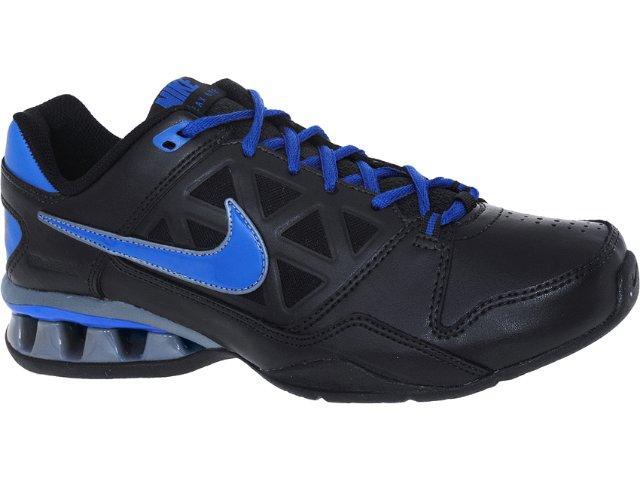 Tênis Masculino Nike 502828-004 Reax 6 tr Preto/azul