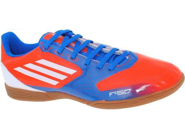 Tênis Masculino Adidas G61503 f5 in Azul/laranja