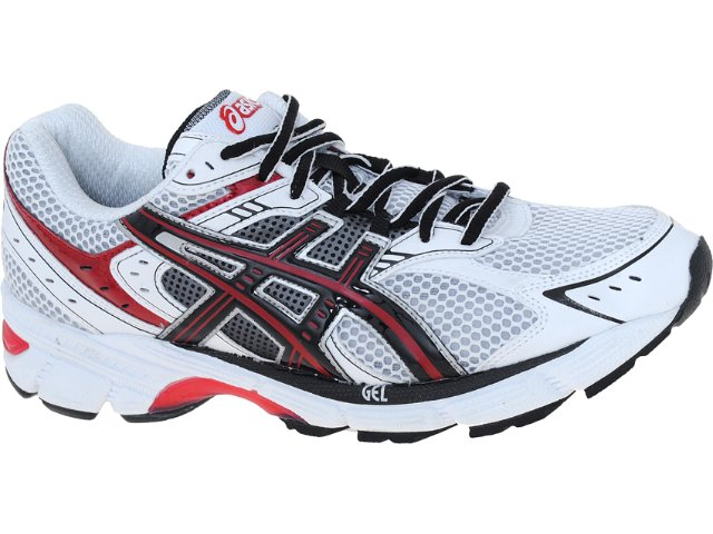 Tênis Masculino Asics Gel Equation 5 Bco/pto/verm