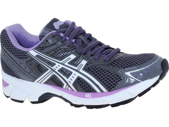 Tênis Feminino Asics Gel Equation 5w Chumbo/lilas