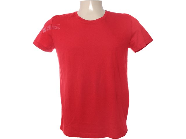 Camiseta Masculina Coca-cola Clothing 353202958 Vermelho