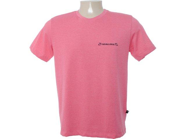 Camiseta Masculina Cavalera Clothing 01.01.6534 Vermelho