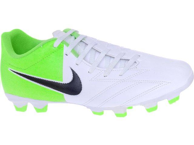 Chuteira Masculina Nike Exacto 474137-103 Branco/limão