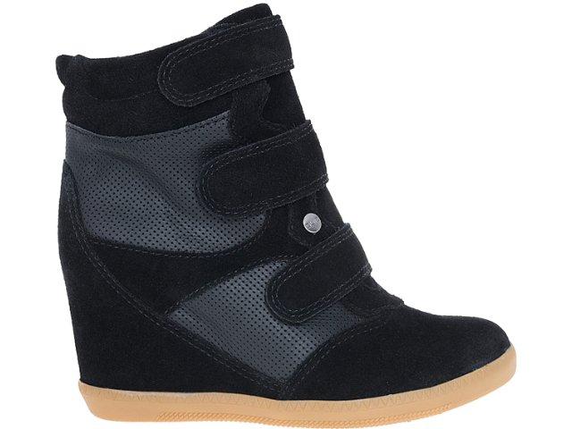 Sneaker Feminino Quiz 69901 Preto