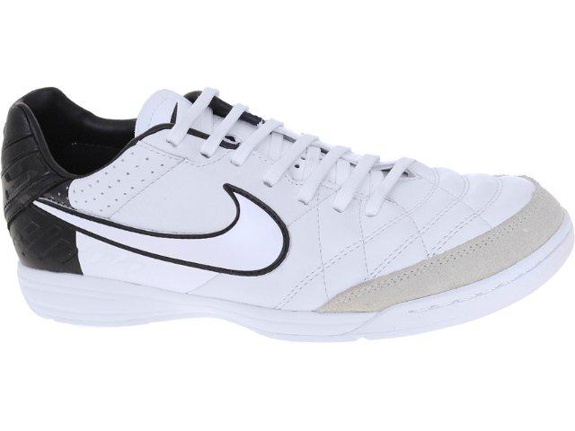 Tênis Masculino Nike Tiempo 454333-105 Branco/preto