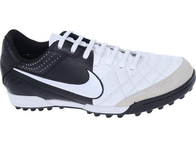 Tênis Masculino Nike Tiempo 509089-105 Branco/preto