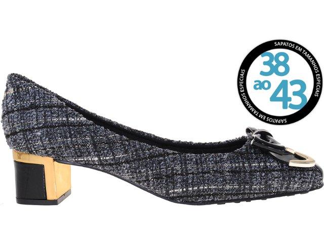 Sapato Feminino Sole D'oro 6047 Castor/preto
