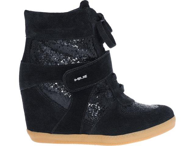 Sneaker Feminino Quiz 69902 Preto