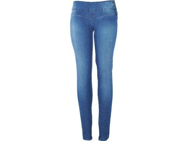 Calça Feminina Kacolako 02883 Jeans
