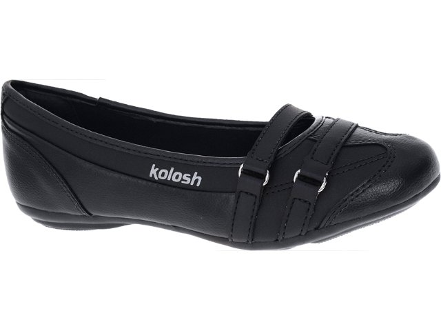 Sapatilha Feminina Kolosh C0012 Preto