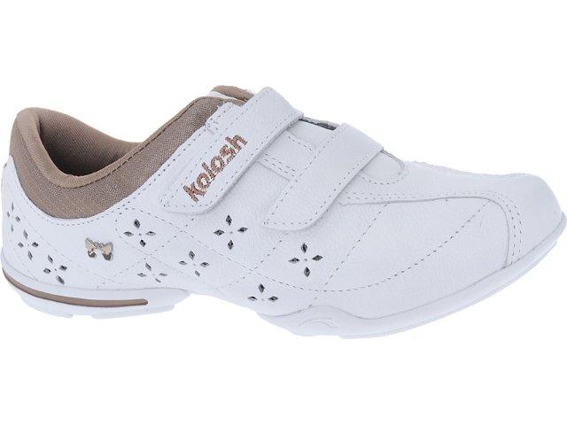 Tênis Feminino Kolosh C0031 Branco/natural