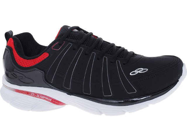 Tênis Masculino Olympikus Upper 860 Preto/vermelho