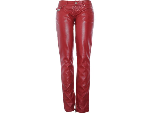 Calça Feminina Coca-cola Clothing 23201001 Cereja