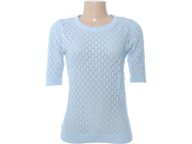 Blusa Feminina Dzarm Zl3j 1asi Azul Claro