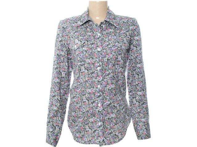 Camisa Feminina Checklist 19.10.2833 Estampada