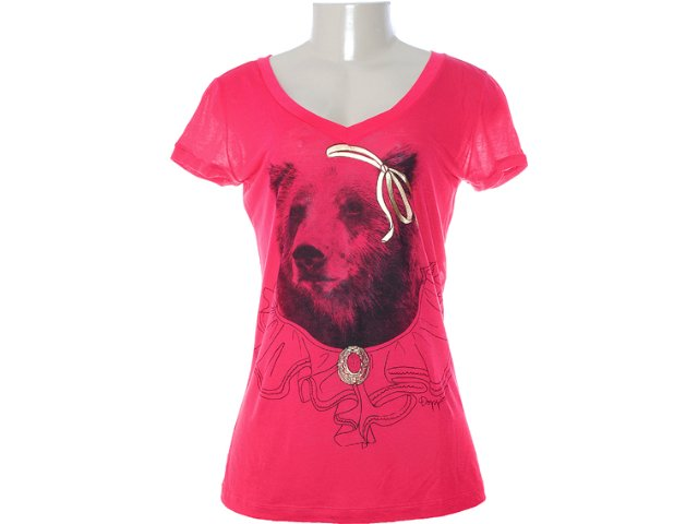 Camiseta Feminina Dopping 015252005 Pink