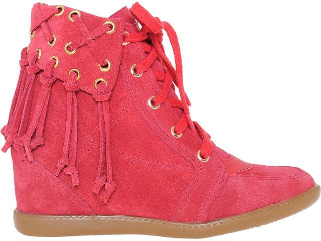 Sneaker Feminino Anna Brenner 1948 Tomate