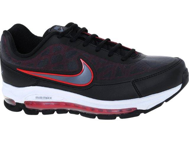 Tênis Masculino Nike 506179-002 Air Max Nitro Preto/bco/verm