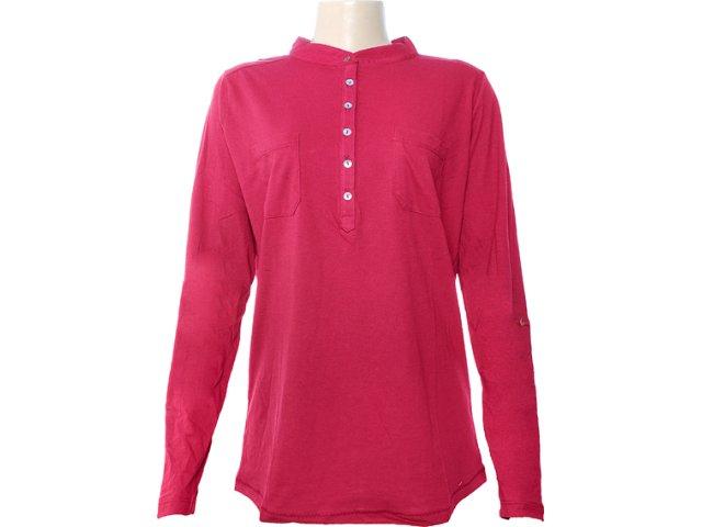 Camisa Feminina Hering 03nn Rxu07s Vinho