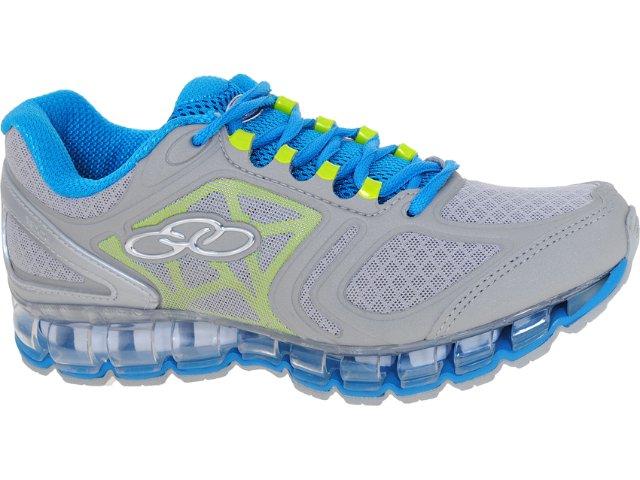 Tênis Feminino Olympikus Maxpower 861 Cinza/azul