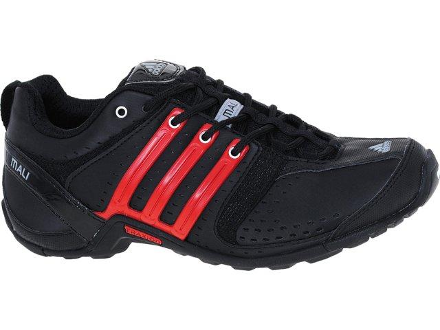 Tênis Masculino Adidas G63966 Mali 10 Preto/vermelho