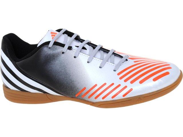 Tênis Masculino Adidas V22120 Predito lz in Preto/bco/laranja