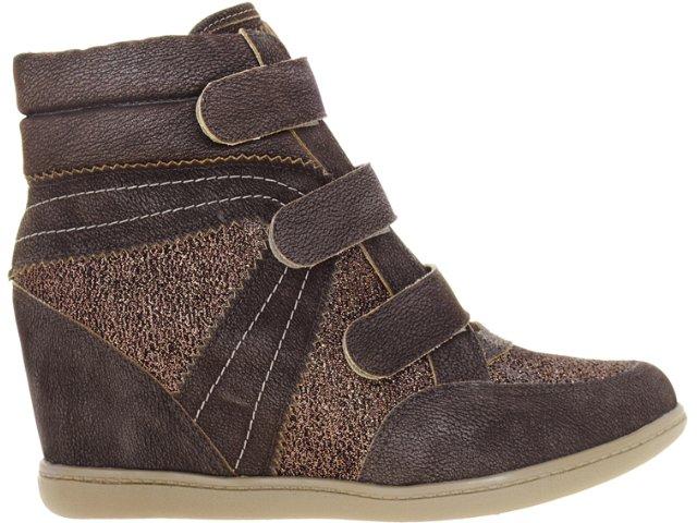 Sneaker Feminino Verazzi 52902 Café/cobre