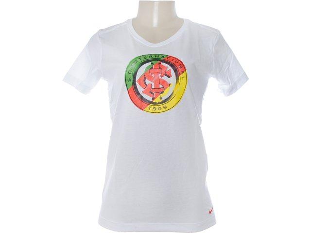 Camiseta Feminina Inter 527894-100 Branco