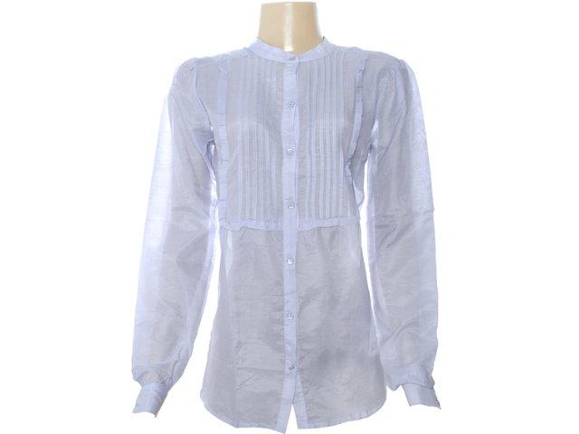 Camisa Feminina Dzarm Z7d7 1bsn Lilas