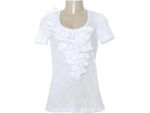 Blusa Feminina Dzarm 6jj7 1asn Branco