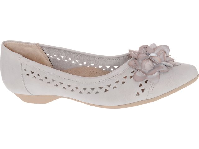Sapato Feminino Piccadilly 254.036 Gris