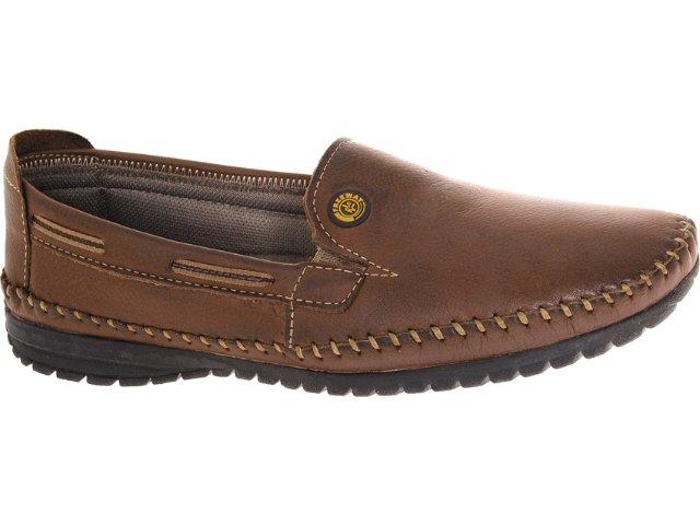 Sapato Masculino Free Way Lanner 325 Sesamo
