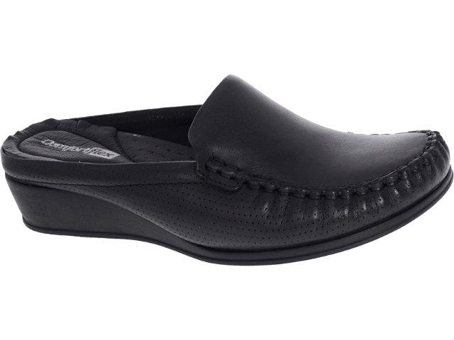 Mule Feminino Comfortflex 93401 Preto