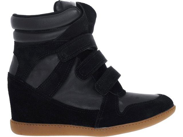Sneaker Feminino Hetane 1201202 Preto